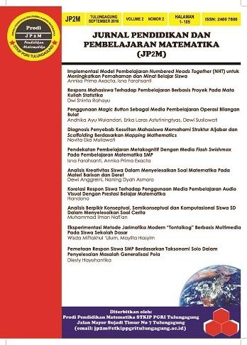 JP2M Vol. 2 No. 2 September 2016