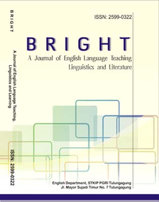 BRIGHT: A Journal of English Language Teaching, Linguistics and Literature